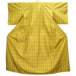 本場黄八丈の着物
